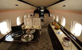 Global 5000 - Comfortably seats 19 passengers