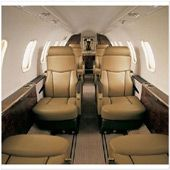 Lear 45XR - Comfortably seats 8 passengers
