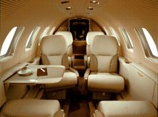 Citation Bravo - Comfortably seats 7 passengers