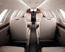 Citation CJ2 - Comfortably seats 7 passengers
