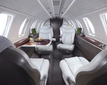 Citation CJ4 - Comfortably seats 7 passengers