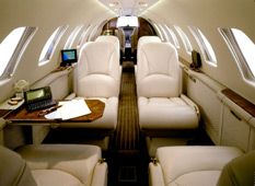 Citation Encore - Comfortably seats 7 passengers