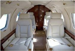 Citation III - Comfortably seats 8 passengers