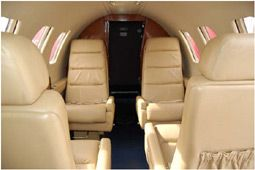 Citation I - Comfortably seats 7 passengers