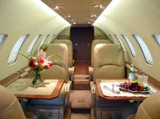 Citation Ultra - Comfortably seats 8 passengers