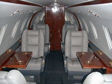 Citation VI - Comfortably seats 9 passengers