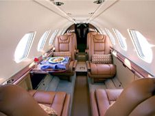 Citation V - Comfortably seats 8 passengers