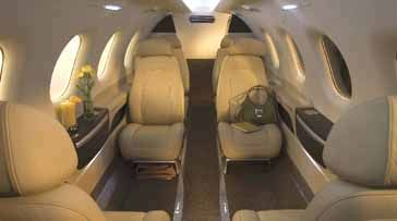 Phenom 300 - Comfortably seats 10 passengers