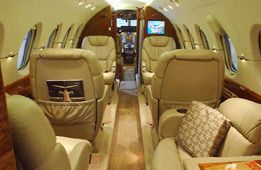 Hawker 800XP - Comfortably seats 13 passengers