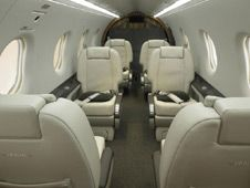 Pilatus PC-12 - Comfortably seats 8 passengers