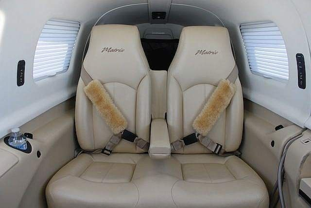 Piper Matrix - Comfortably seats 8 passengers