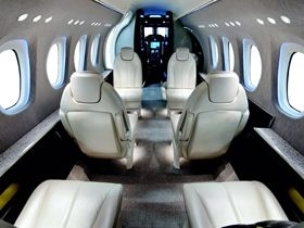 Citation M2 - Comfortably seats 6 passengers
