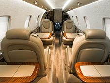 Citation XLS - Comfortably seats 8 passengers