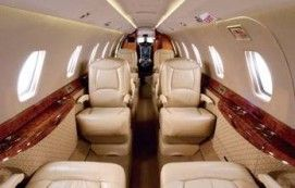 Citation Excel - Comfortably seats 8 passengers