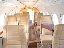 Jetstream 32 - Comfortably seats 19 passengers