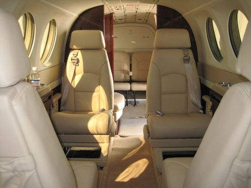 King Air 300 - Comfortably seats 8 passengers