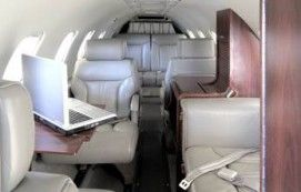 Lear 35 - Comfortably seats 7 passengers