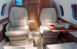 Lear 60 - Comfortably seats 7 passengers