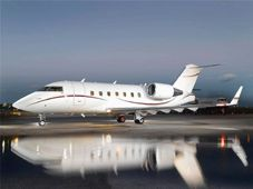 Fly Private in a Challenger 604