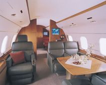 Global Express - Comfortably seats 30 passengers