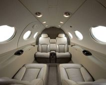 Citation Mustang - Comfortably seats 5 passengers
