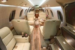 Citation VII - Comfortably seats 9 passengers