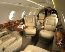 Citation X - Comfortably seats 8 passengers