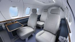 Eclipse 500 - Comfortably seats 5 passengers