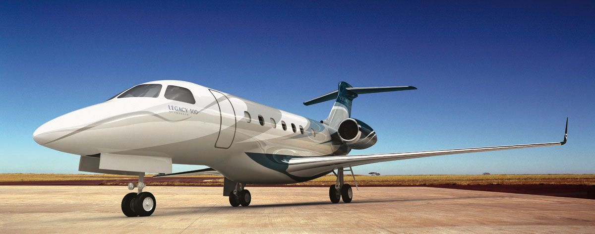 Fly Private in a Legacy 500