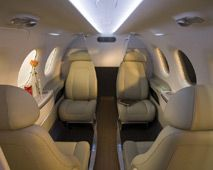 Phenom 100 - Comfortably seats 5 passengers