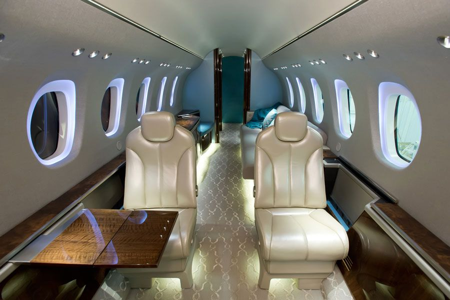 Citation Longitude - Comfortably seats 8 passengers